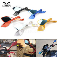 Motorcycle Rearview Rear View Side Mirrors for HONDA CBR250R CBR300R CB300F CBR500R CB500F CB500X CB190R CB190X