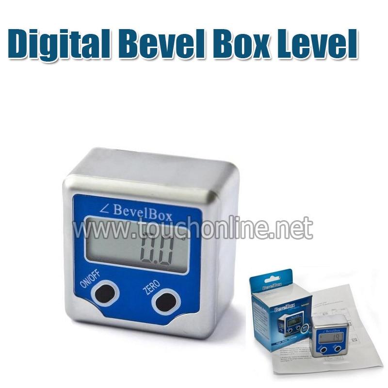 Digital Bevel Box Level Angle Finder Gauge Sensor 360 Degrees Protractor Spirit Level Inclinometer TLB-05 360 degrees