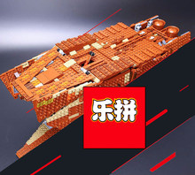 Lepin 05038 3346pcs Lepin Star Plan Sandcrawler Building Blocks Figures Model Bricks Toys Compatible With wange 75059(China)