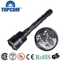 3 pc T6 wielkie potężne latarka LED 30 W 5000 lumenów 18650 akumulator taktyczna policja latarka LED torch zmieniarka zawarte