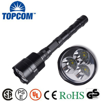 Utral Bright 3 CREE T6 LED Flashlight CREE LED 5000 Lumens Flashlight