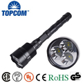 3pc T6 LED 30W big powerful flashlight 5000 lumen 18650 rechargeable tactical police LED flashlight torch changer included