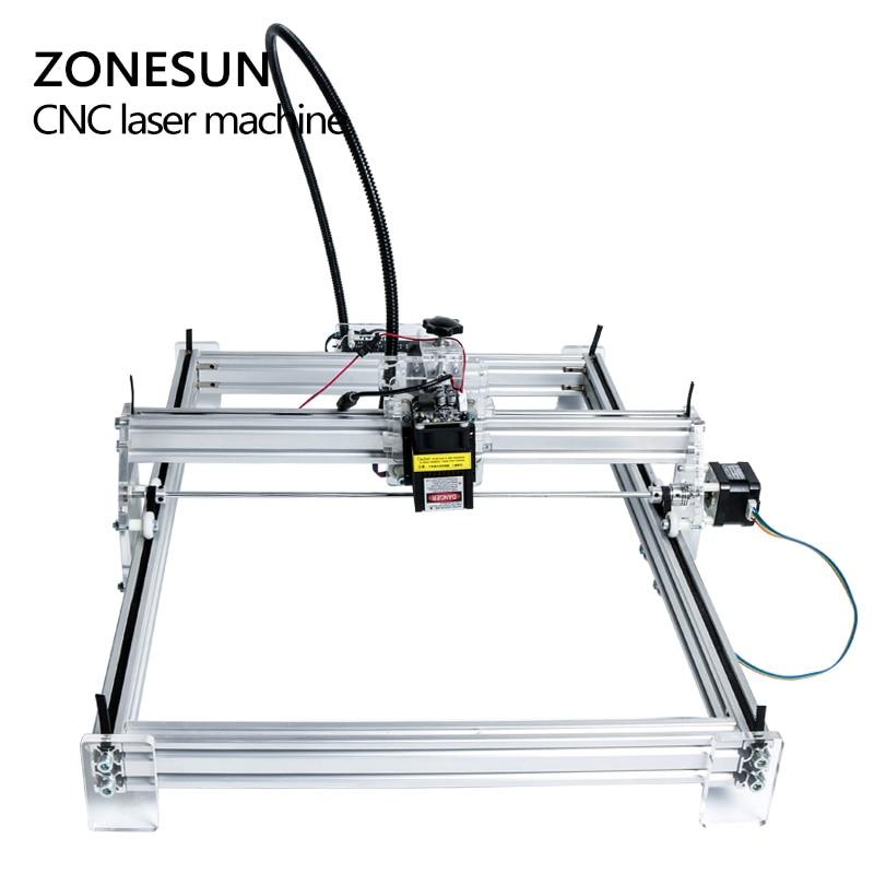 5500mW Desktop DIY Violet Laser Engraving Machine Picture CNC Printer Maximum Engraving Area 35*50CM - 2