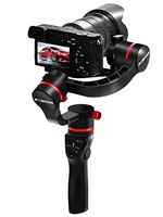 3 axis handheld encorder gimbal stabilizer for mirrorless micro DSLR cameras 45 degrees up to 3.96lbs i.e Sony A7R2 A7S GH4 GH5