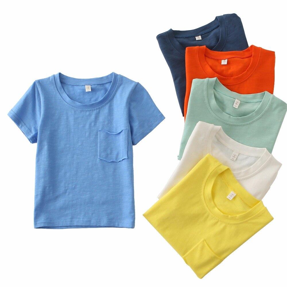 Hot Sale Summertime Baby Girls Boys T Shirts Fashion Casual ...