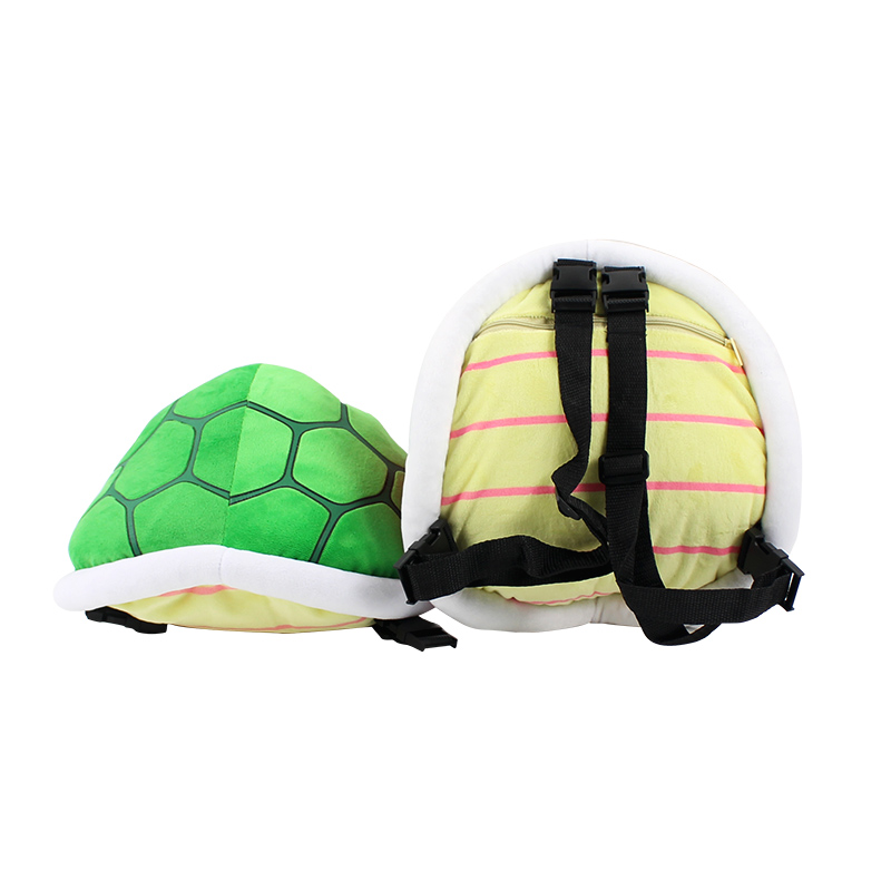 30cm Super Mario Bros Koopa Troopa Plush Toy Troopa Turtle Tortoise Shell Backpack Stuffed Animal Toy