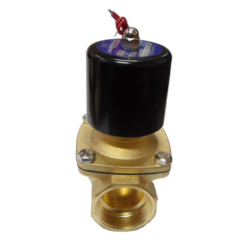 Copper valve solenoid valve normally closed  2W-250-25  2W250-25  Rc1   AC220V  Dc24V  DC12V can choose copper valve solenoid valve normally closed 2w 160 15 dn15 rc1 2 2w160 15 rc1 4 ac220v dc24v dc12v can be choosed