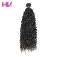 Hair Villa Brazilian Jerry Curly Virgin Hair Bundles Natural Black Human Hair For Salon Low Ratio