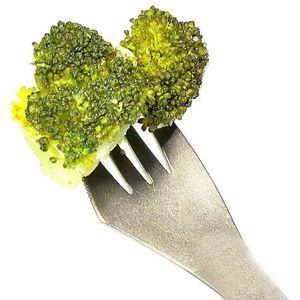 Image 2 - クリエイティブデザイン 3 · イン · 1 キッチン食器ステンレス鋼sporksフォークスプーン麺サラダフルーツ食器