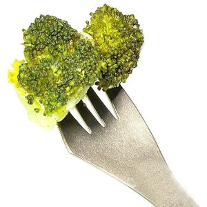 Image 2 - Design creativo 3 in 1 Cucina Articoli Per La Tavola in Acciaio Inox Sporks Forcella Tagliatelle Cucchiaio di Insalata di Frutta Da Tavola