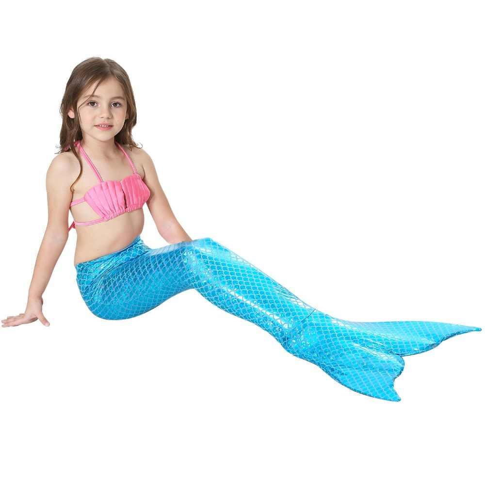 37cd9d96 Traje de sirena para niños Cosplay niñas Bikini sirena cola sirena trajes  de baño para niños traje de baño sirena cola ropa traje de baño ...