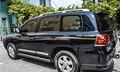 Black ABS chrome auto side door trim moulding for toyota LAND CRUISER FJ200, auto accessories