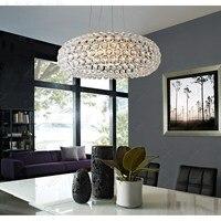include bulb pendant lights Arylic NEW Bedroom Acrylic Kitchen House 50cm Foscarini Caboche Ball Pendant Lamp Bead light ZCL