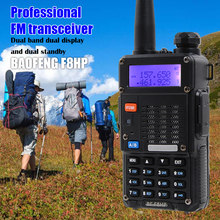 Tri power baofeng F8HP walkie talkie dual band 136-174MHz 400-520MHz FM radio transceiver 8/4/1w ham CB radio for hunting