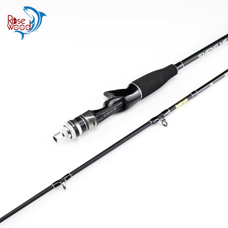 ROSEWOOD 1 6m SHENGHE Series Soft Tail Sensitive Carbon Fiber Boat Raft Fishing Rod 5 15g