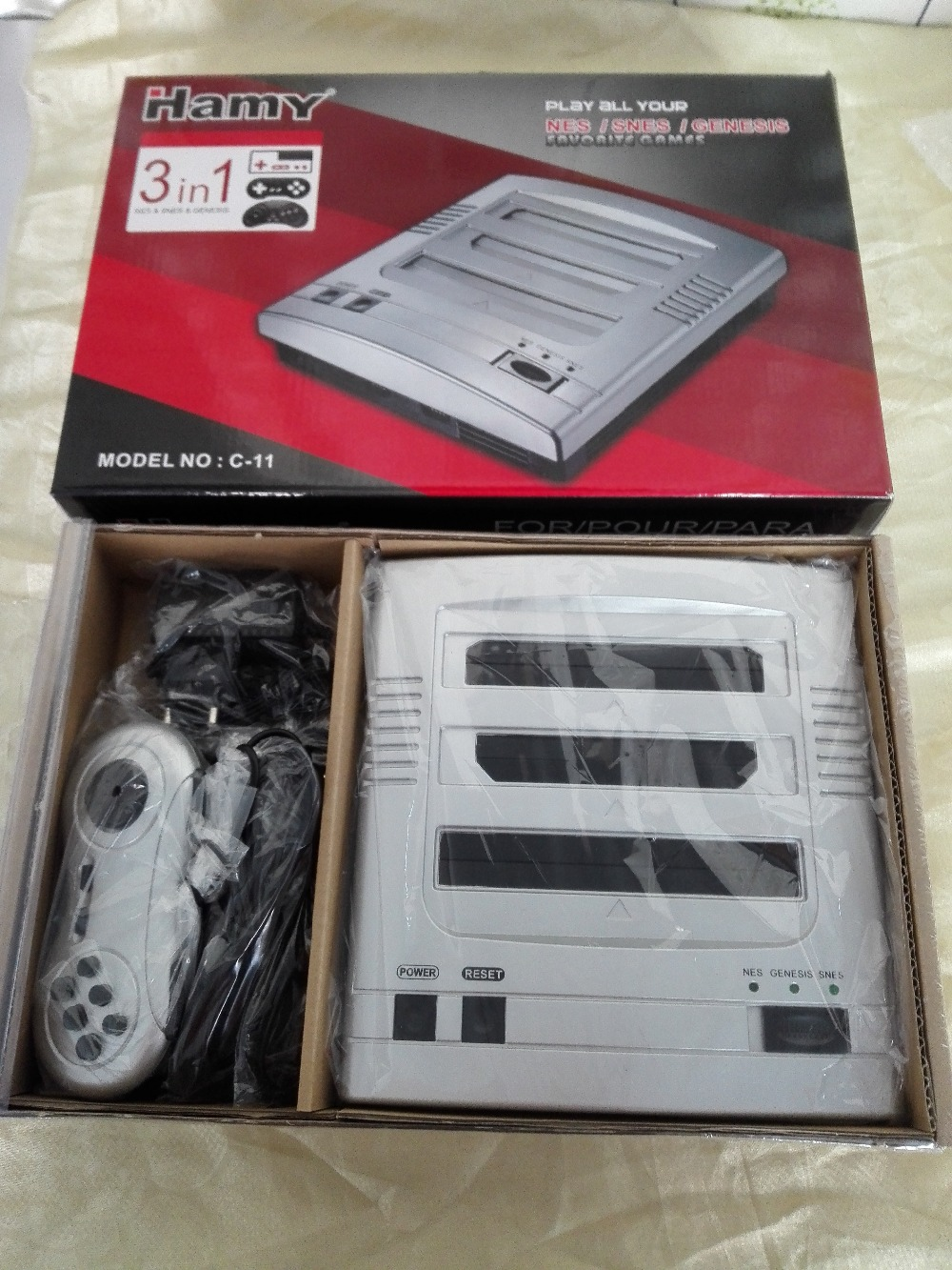 Hamy Ретро Системы fc3plus ТВ/Видео игровой консоли/играть как Северной Америке и японский супер NES игры, SEGA genessis игр и ne