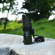 ใหม่ 7 in 1 Survival Whistle(China)