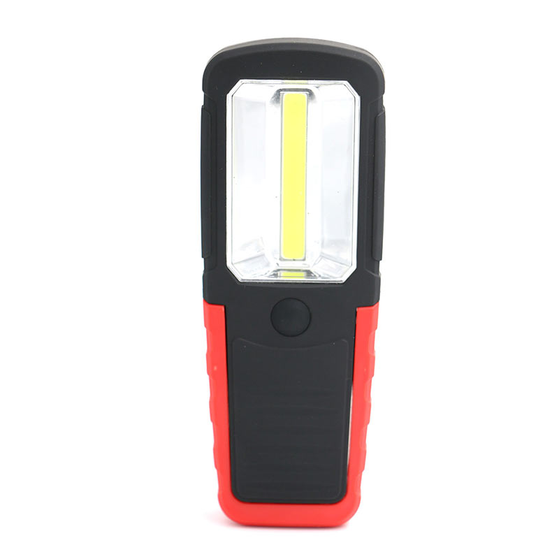 New COB LED Light Magnetic Flashlight Torch Work Lamp With Magnet Hook For Camping Outdoor Sport SKD88