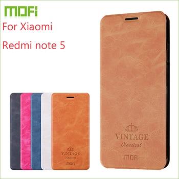 Для Xiaomi redmi note 5 чехол Mofi флип-кейс для Xiaomi redmi note 5 высококачественный кошелек кожаный чехол-подставка для redmi note 5