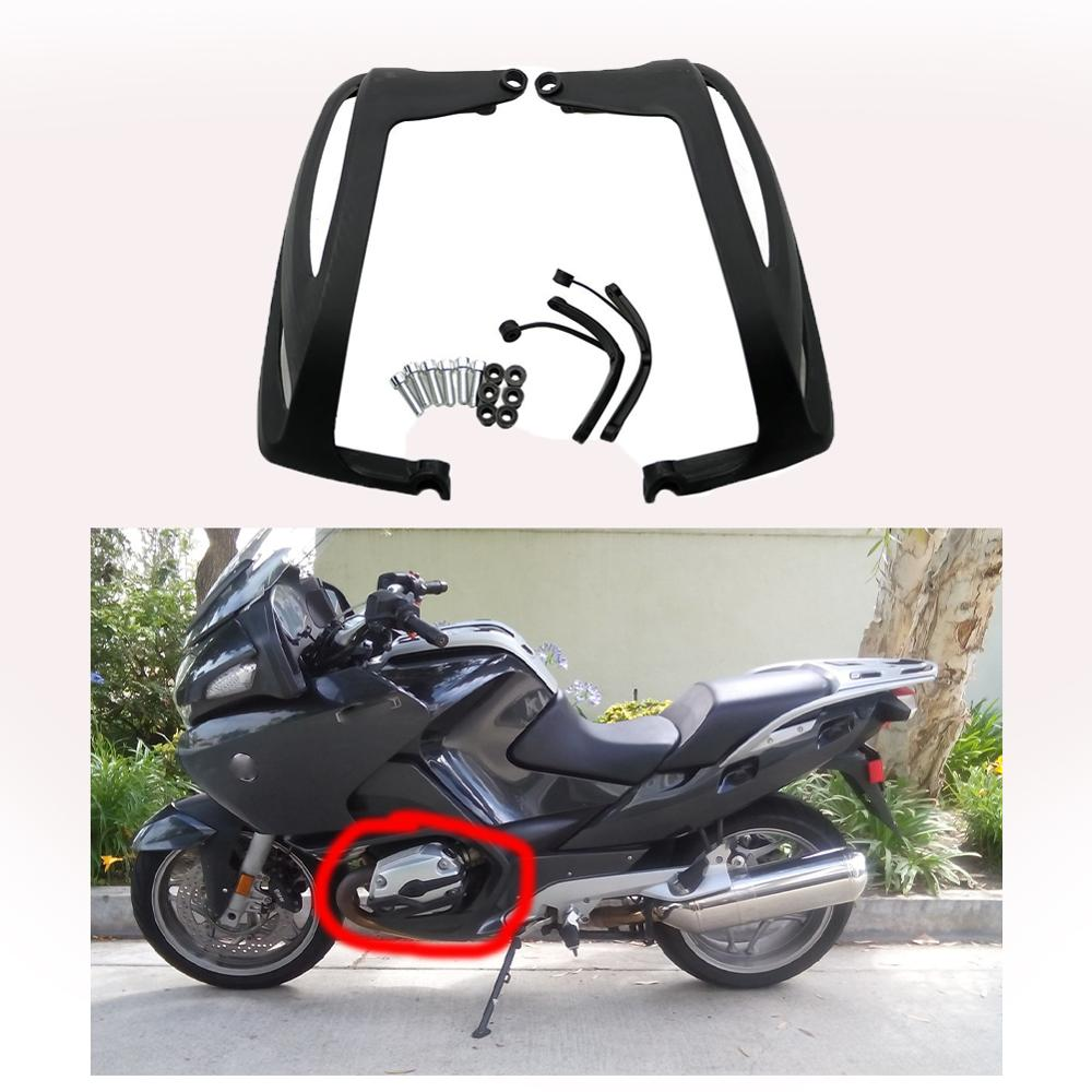 Engine Guard Cylinder Protector Side Cover For BMW R1200RT R1200GS R1200R R1200S <font><b>R1200ST</b></font> RT1200 GS1200 R1200 RT GS R ST 05 - 09 image