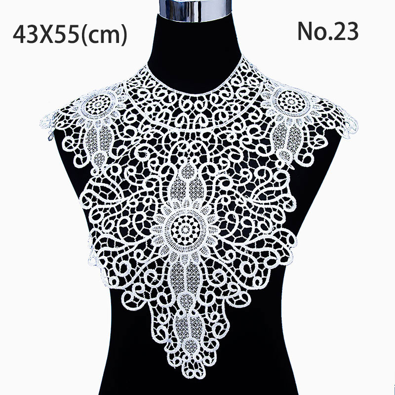 misaya 1 шт. полиэстер 4 цвета цветок кружево декольте ткань, поделки ручной работы свадебное платье кружево воротник для вышивание принадлежности ремесла