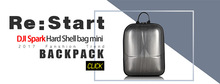 DJI Spark Bag Mini Hardshell Backpack Waterproof Dropping Protective Shoulder Bag Storage Bag for DJI SPARK