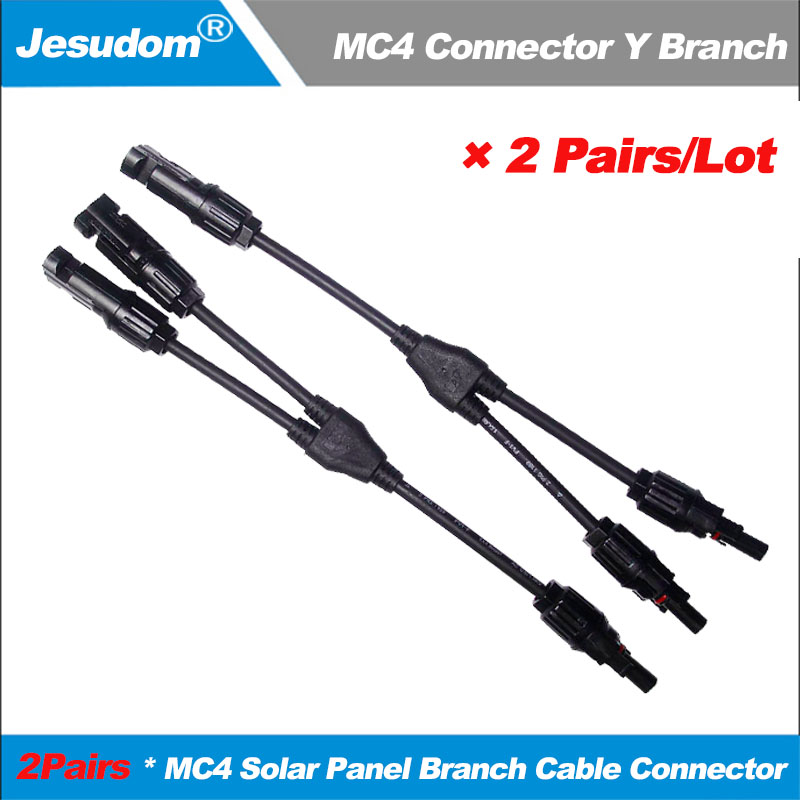 MC4 30A Male Female M//F Wire Cable Connector Set Solar Panel IP67 Adapter FF