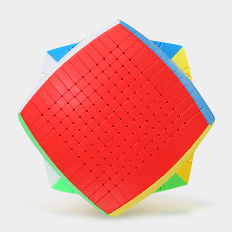 최신 상위 shengshou 13 레이어 128mm 스티커없는 13x13x13 매직 큐브 속도 퍼즐 13x13 큐브 교육 완구 선물 cubo magico-에서매직 큐브부터 완구 & 취미 의  그룹 2