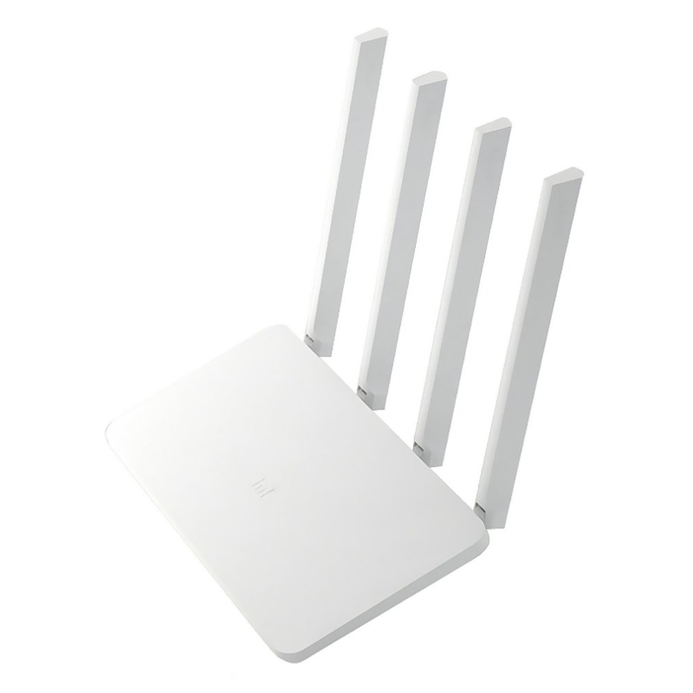 Xiaomi MI WiFi Router Repeater 3C 16MB 300Mbps 2.4GHz Dual Lan with 4 Antennas Signal Booster Stable & Reliable