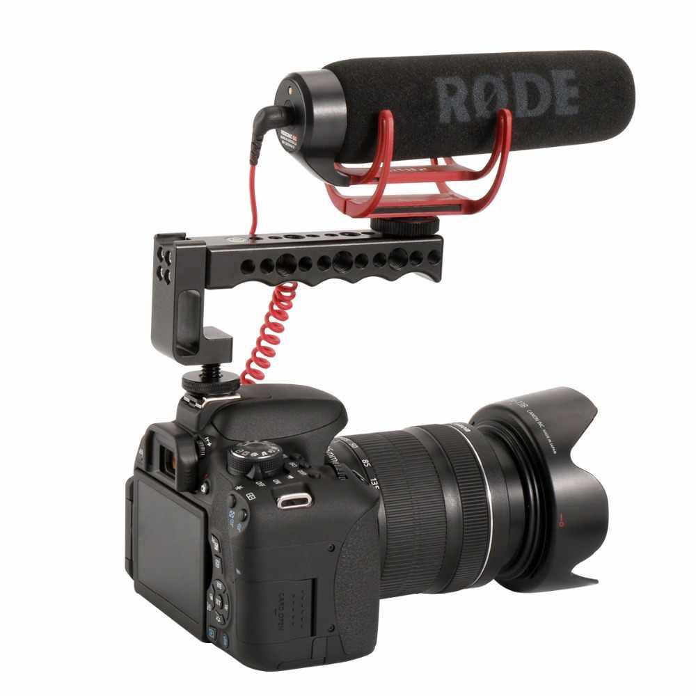 Ulanzi видео стабилизирующий Топ ручка и холодная Растяжка для обуви для Canon EOS для Nikon Olympus и Pentax DSLR камер