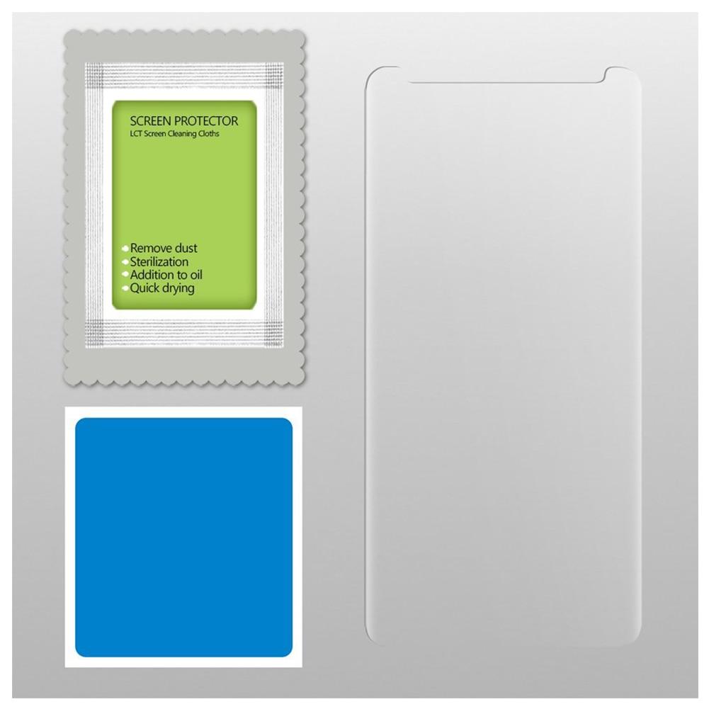 Full Coverage HD Clear Case Friendly Anti-Fingerprint Premium Edge-to-Edge Tempered Glass Screen Protector