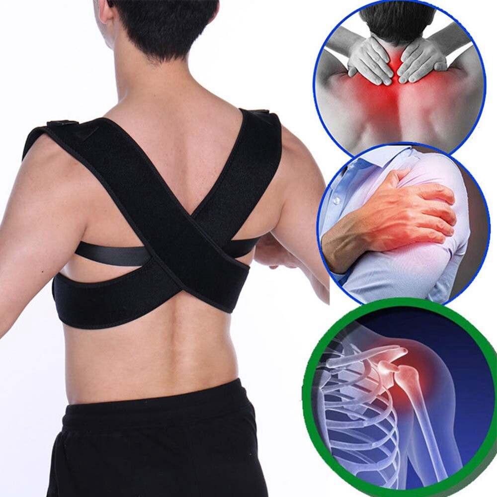 Shoulder Posture Corrector Support Belt for Adult Kid Body Shaper Orthopedic Posture Men Corset Brace Waistcoat Postural Girdle