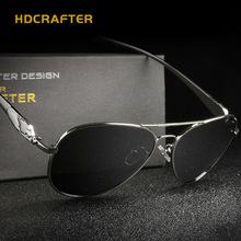 2016 HDCRAFTER Elegant Women Polarized Sunglasses High Quality Wholesale Price Eyewear  Men Oculos With Case