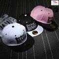 Belababy 2016 Verano Estilo Hasta Ahora Muy Afortunados de Gorras de Béisbol Kpop Sombrero Bordado Hip Hop Del Snapback Del Casquillo Unisex Sport equipada sombreros