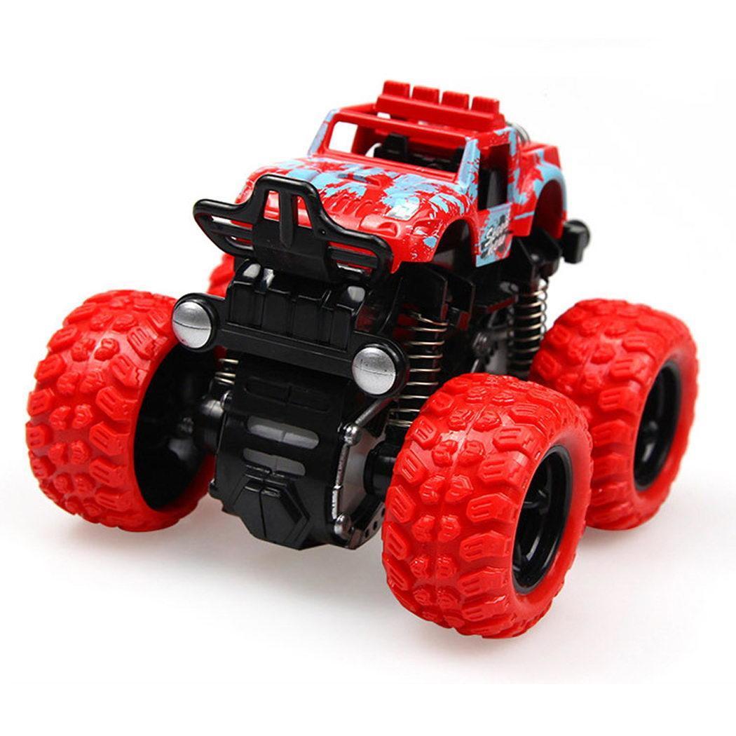 Los niños a prueba de golpes a prueba la inercia de cuatro ruedas de vehículo Off-Road coche de juguete> 3 años de edad Para Mitsubishi Outlander 2013 2015 2016 2017 2018 Exterior modificado especial 3D 4WD letras pegatinas de cuatro ruedas