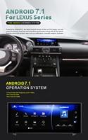 10,25 дюймов NAVIRIDER Android 7,1 Автомобильный gps навигатор BT экран устройства для Lexus IS 200 250 300 350 200 t 300 h 2013 2017