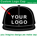 custom trucker hat cotton embroidery baseball golf cap small moq free shipping customized snap back cap