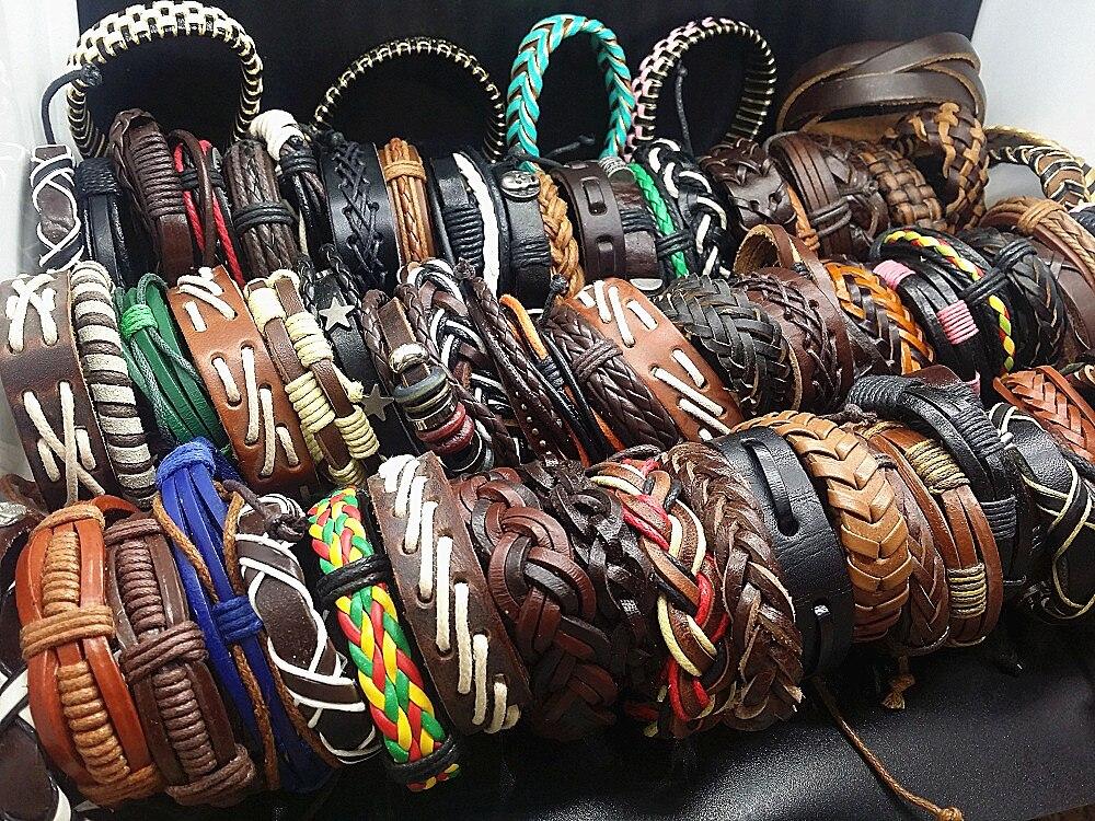50pcs Vintage Leather...