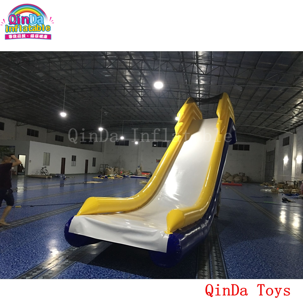 2017 hot product 4mH*2mW inflatable water slide for boat,free air pump inflatable yacht slide for sale 6162 63 1015 sa6d170e 6d170 engine water pump for komatsu