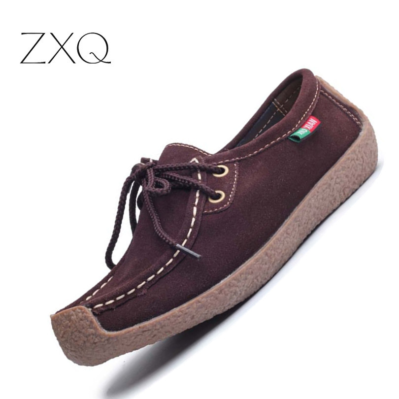2017 summer women casual shoes cowhile leather flats shoes women oxfords for women moccasins ladies shoes