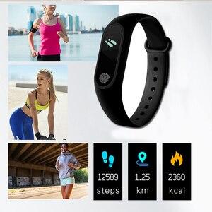 Image 3 - Bracelet de Sport montre intelligente hommes femmes Smartwatch pour Android IOS Tracker de Fitness électronique intelligent horloge bande Smartband Smartwach
