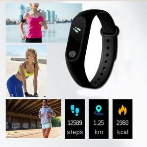 Image 3 - 스포츠 팔찌 스마트 시계 남성 여성 안드로이드에 대한 smartwatch ios 피트니스 트래커 전자 스마트 시계 밴드 smartband smartwach