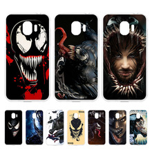 Venom For Samsung Galaxy J4 2018 Case Soft Silicone Phone Cover Cases for Coque J400F J400F/DS J400G/DS EU 5.5