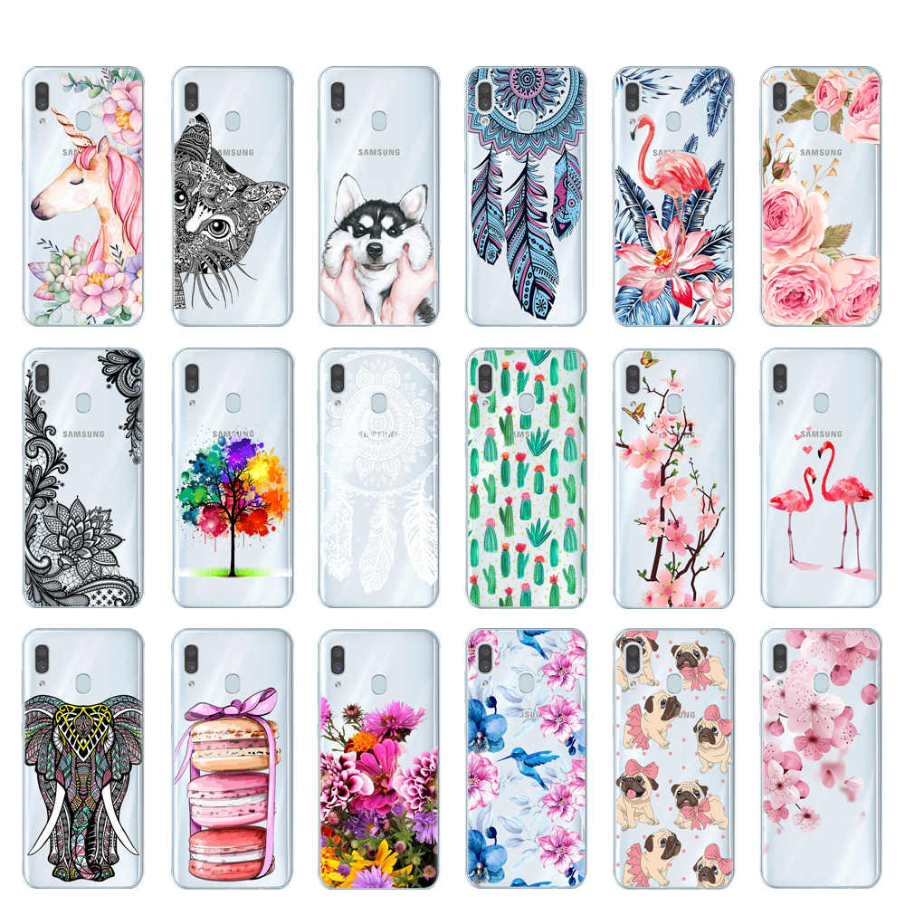 For Samsung Galaxy A30 Case Silicone TPU Protective Cover Phone Case For Samsung A30 A305F A305 A 30 SM-A305F A10 A50 Case Soft