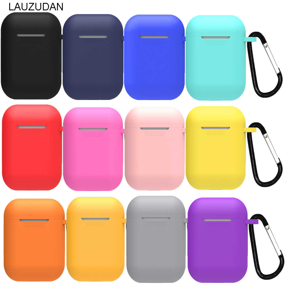 Mini Soft Silicone Case For Apple Airpods Shockproof Cover For Apple AirPods Wireless Earphone Cases for Air Pods Protector Case