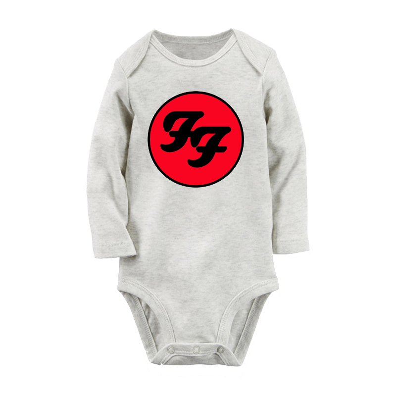 Rock and Roll Newborn Baby Boy Girl Romper Jumpsuit Long Sleeve Bodysuit Overalls Outfits Clothes