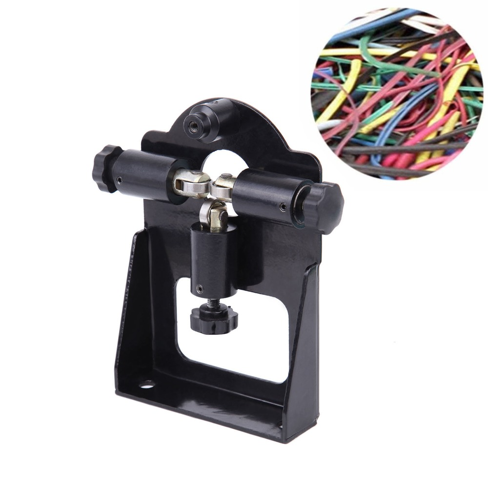 Copper Wire Stripping Machine Cable Stripper Manual Scrap Metal Recycle Tool 1pc enameled wire stripping machine varnished wire stripper enameled copper wire stripper xc 0312