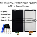 5.3 inch Black Full For LG X Power K220 K220DS K220DSK k220F k220DSF LCD Display + Touch Screen Digitizer Assembly + Free Tools