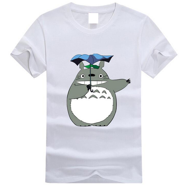 2017 Totoro Graphic T Short Sleeve Female/Male