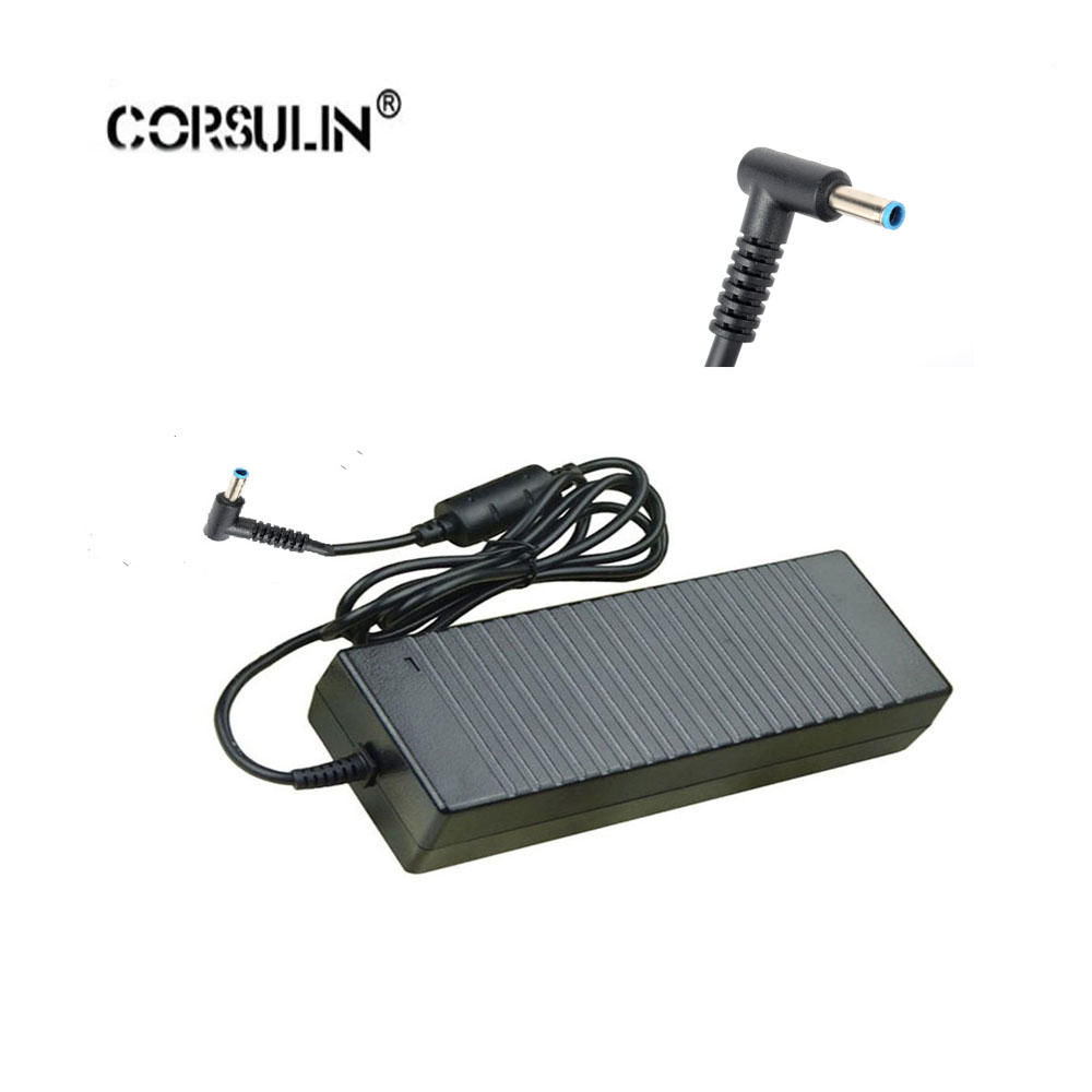 Corsulin 19.5V 7.7A 150W Replacement AC Adapter Charger For HP ENVY 15 ENVY 17 ENVY 15-J013TX J015TX <font><b>Connector</b></font> <font><b>4.5mm</b></font>*3.0mm image